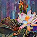 Lotus Dream 2 by Patty Vicknair