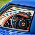 Lotus Evora S Steering Wheel -1858c by Jill Reger