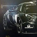 Lotus Exige Gt3 Side by Richard Le Page