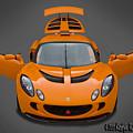 Lotus Exige S  by Ben Jenkins