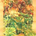 Lotus Field by Deborah Younglao