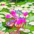 Lotus Flower 3 by Jeelan Clark
