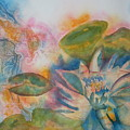 Lotus Flower Abstract by Warren Thompson