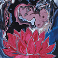 Lotus Love by Rabi Khan