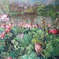 Lotus Pond-3 by Chao Liu