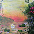 Lotus Pond Fantasy by Barbara Harper