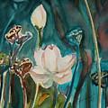 Lotus Study I by Xueling Zou