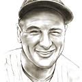 Lou Gehrig by Greg Joens