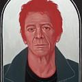 Lou Reed 2 by Jovana Kolic
