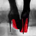 Louboutin At Midnight Black And White by My Inspiration
