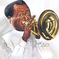 Louis Armstrong by Emmanuel Baliyanga