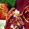 Louis Armstrong Pops by David Lloyd Glover