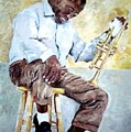 Louis Armstrong- Pops by Udi Peled