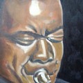 Louis Armstrong by Toni Berry