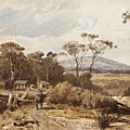 Louis Buvelot , At Ballan, 1876 by Louis Buvelot