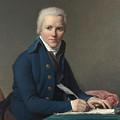 Louis David   Portrait Of Jacobus Blauw by PixBreak Art