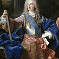 Louis De Bourbon Of Savoy. Prince Of Asturias. Later Louis I Of Spain  by Jean Ranc