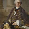 Louis-gabriel Blanchet Paris 1705 - 1772   Portrait Of A Gentleman by Louis-Gabriel Blanchet