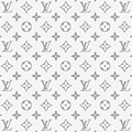 Louis Vuitton Pattern - Lv Pattern 14 - Fashion And Lifestyle by TUSCAN Afternoon