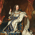 Louis Xv Of France As A Child by Hyacinthe Rigaud