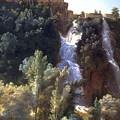 Louise-josephine Sarazin De Belmont  View Of The Falls At Tivoli by Louise-Josephine Sarazin de Belmont