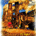 Louisiana Sugar Cane Poster 2012 by Ronald Olivier