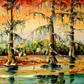 Louisiana Swamp by Diane Millsap