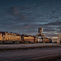 Louisville And Indiana Railroad At Jeffersonville Indiana by Jim Pearson