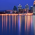 Louisville Lights Up Nicely by Frozen in Time Fine Art Photography