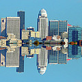 Louisville Skyline Reflection by Kevin Jackson