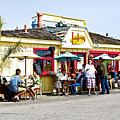 Loulou's On The Commercial Pier In Monterey-california by Ruth Hager
