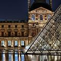 Louvre By Night II by Stefan Nielsen