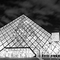 Louvre Museum Bw by Alex Art and Photo