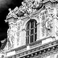 Louvre Palace Window Paris by John Rizzuto