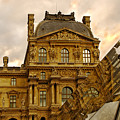 Louvre Reflection by Mick Burkey