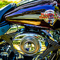 Love A Harley - Motorcycle  by Barry Jones