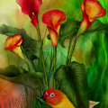 Love Among The Lilies  by Carol Cavalaris