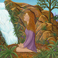 Love And Gratitude Meditation - Illustration #13 In The Infinite Song by Andrea Freeman