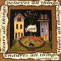 Love Bears All Things... by Catherine Holman