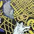 Love Between Valkyrie And Wolf by Brett Genda