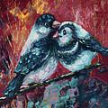 Love Birds   by OLena Art Brand