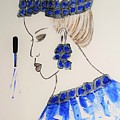 Love Blue by Jasna Gopic