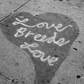 Love Breeds Love B W by Rob Hans