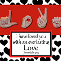 Love - Bw Graphic by Master's Hand Collection