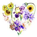 Love Flowers by Irina Sztukowski
