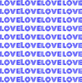 Love In Blue Neon by LogCabinCottage