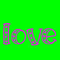 Love In Magenta And Green by Bee-Bee Deigner