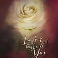 Love Is Being With You by Jai Johnson