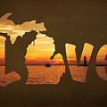 Love Lake Michigan by Emily Kay