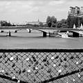 Love Locks Over The Seine by Carol Groenen